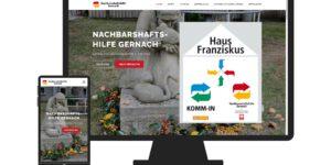 Website Nachbarschaftshilfe Gernach Responsive